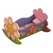 Teamson Kids Magic Garden Rocking Bed