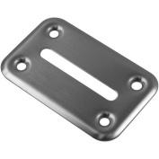 Trademark Global Stainless Steel Table Poker Chip Drop Slot