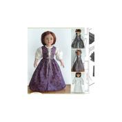 Carpatina Renaissance Ensemble - 46cm Doll Clothes Pattern