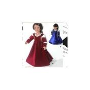 Carpatina Italian Renaissance Dress - 46cm Doll Clothes Pattern