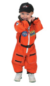 Aeromax Jr. Astronaut Suit with Embroidered Cap and NASA patches, ORANGE, Size .