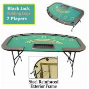 Trademark Poker Professional Blackjack Table with Folding Legs