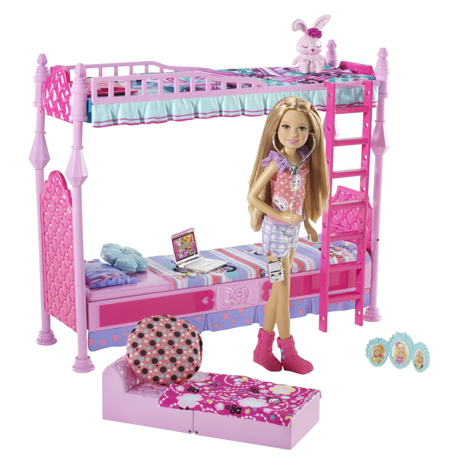 Awesome Barbie Sisters Sleeptime Bedroom And Stacie Doll Set Download Free Architecture Designs Rallybritishbridgeorg