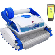 Swim Time Aquafirst Turbo RC Floor and Wall Cleaner with Remote Control for In-ground Pools