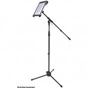 Pyle Multimedia Microphone Stand with iPad 2 Adapter