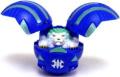 Bakugan Battle Brawlers Game Single LOOSE Figure Aquos Griffon [Blue]