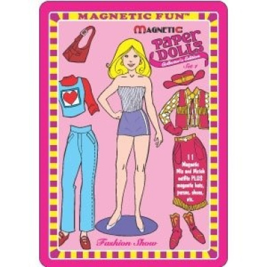Magnetic Paper Dolls by Lee Publications