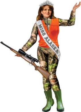 Sarah Palin : Going Vogue Magnetic Dress up Doll