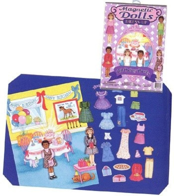 Birthday Party Magnetic Dolls