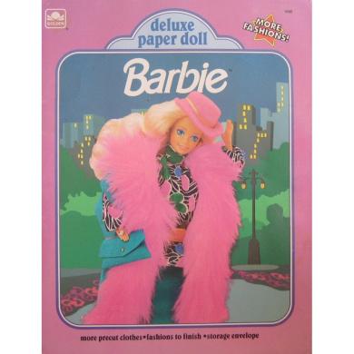 Barbie Deluxe Paper Doll Book 1991 Uncut #1695
