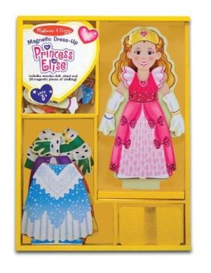 Princess Elise Magnetic Dress-Up Wooden Puzzle
