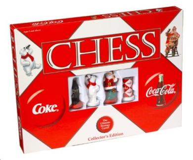 COCA-COLA Chess Board Game