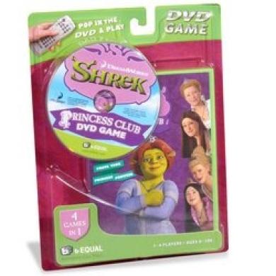 Shrek Princess Club DVD Game