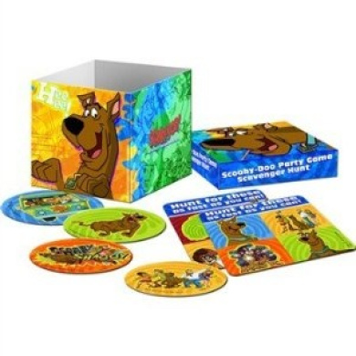 Scooby-Doo Mod Mystery Scavenger Hunt Party Game