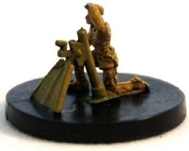 Axis and Allies Miniatures: Romanian Mortar - Counter Offensive 1941-1943