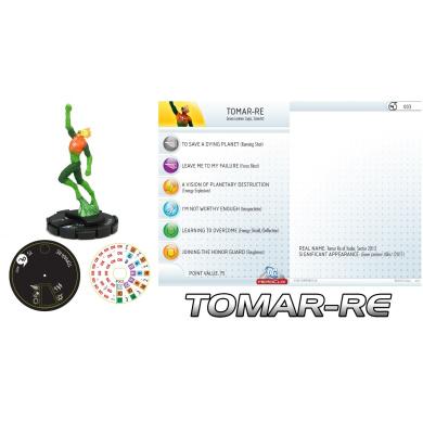 DC Heroclix Green Lantern Fast Forces Tomar-Re