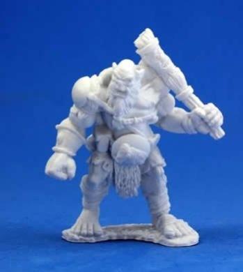 Ogre Chieftain - Dark Heaven Bones Miniature