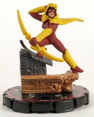 HeroClix: Speedy # 33 (Veteran) - Collateral Damage
