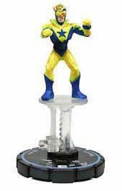 HeroClix: Booster Gold # 59 (Experienced) - Hypertime