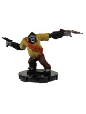 HeroClix: Gorilla-Man # 29 (Experienced) - Hammer of Thor