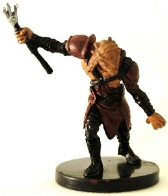 Star Wars Miniatures: Taung Warrior # 40 - Masters of the Force