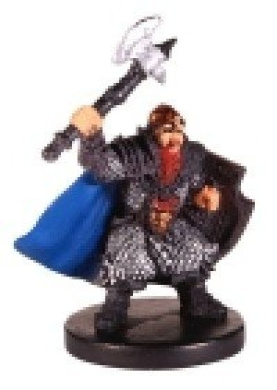 D & D Minis: Tordek, Dwarf Fighter # 13 - Harbinger