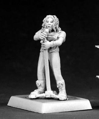Nancy Punk Rock Girl Chronoscope Miniature Figures by Reaper Miniatures