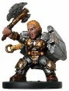 D & D Minis: Dwarven Sergeant # 2 - Giants of Legend