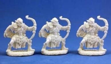 Orc Archers (3) - Dark Heaven Bones Miniature