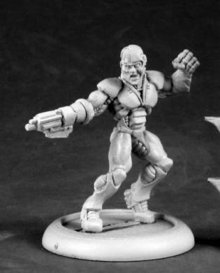 Slade Cyborg Hero Chronoscope Series Miniature