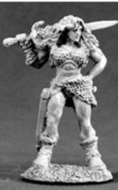 Nadia of the Blade Female Barbarian