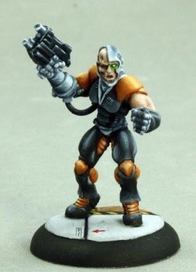 Keryx, Cyborg Assassin Chronoscope Miniature
