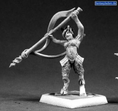 Elf Satyr Faun Reaper Minatures Warlord