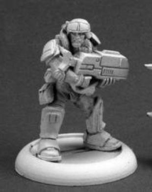 Jazz Jenkins, Intergalactic Marine Chronoscope Miniature