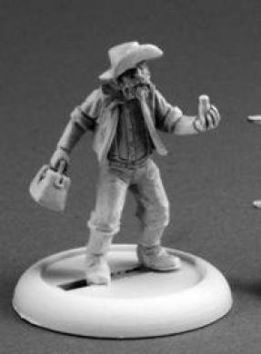 Coot Jenkins, The Prospector Savage Worlds Miniature