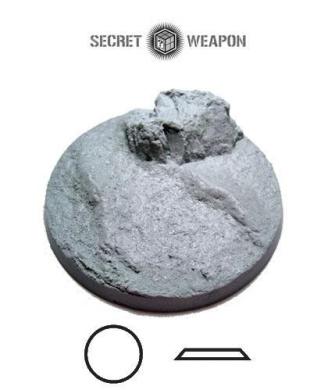 Secret Weapon - Scenic Bases: Bevelled Edge 60mm Desert Mesa 01 (1)