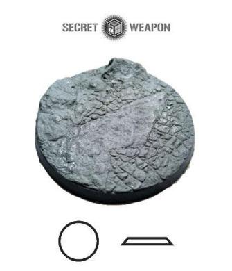 Secret Weapon - Scenic Bases: Bevelled Edge 60mm Desert Basin 01 (1)