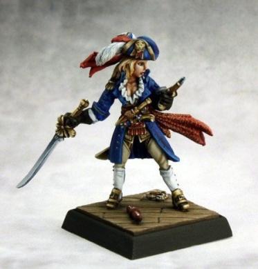 Angelica Fairweather, Pirate Captain Miniature