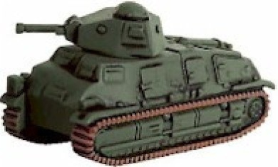 Axis and Allies Miniatures: Somua S-35 # 5 - D-Day