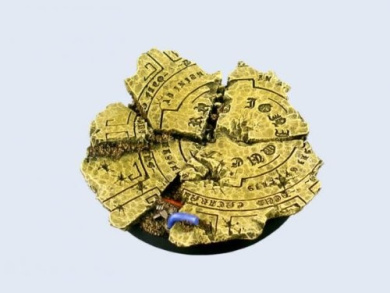 Battle Bases: Temple Bases, Round 60mm #1 (1)