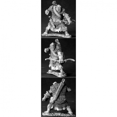 Black Orc Archer Dark Heaven Legends Miniatures