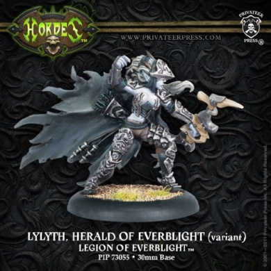 Hordes: Legion of Everblight Lylyth Herald of Everblight (Variant) (1 figure)