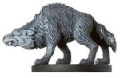 D & D Minis: Timber Wolf # 27 - Deathknell