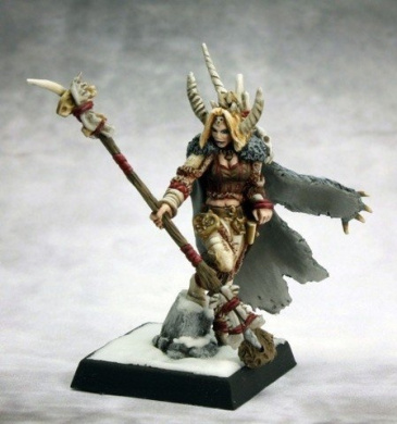 Nadezhda the White, Ice Witch Miniature