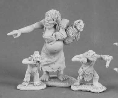 Orc Matron and Brood Dark Heaven Legends Series