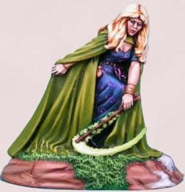 Green Witch Elmore Masterwork Miniature