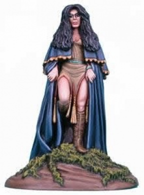 Female Witch 1 Elmore Masterwork Miniature