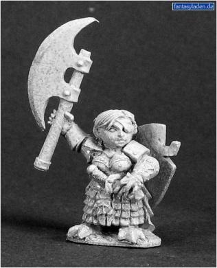 Female Dwarf Warrior 03293