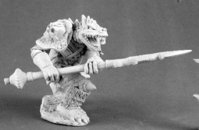 Kriv Blackspear Dragonman Barbarian Dark Heaven Legends Series