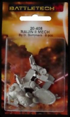 BATTLETECH 20-408 Raijin II RJN-200-A